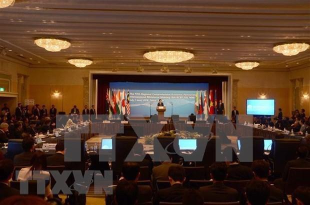 RCEP部长级会议在柬埔寨开幕 hinh anh 1