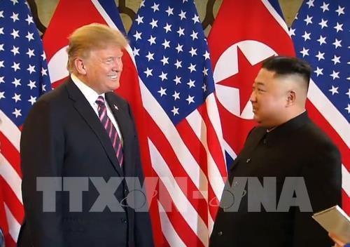美朝领导人第二次会晤:美国总统特朗普强调与朝鲜最高领导人金正恩有着非常好的关系 hinh anh 1