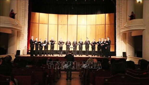 庆祝越南与瑞典建交50周年的音乐会在胡志明市举行 hinh anh 3