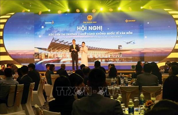 广宁省推动开通飞往云顿国际航空港的航线 hinh anh 1