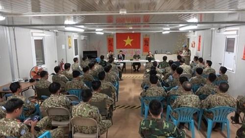 阮志咏上将率团对南苏丹进行工作访问 hinh anh 2