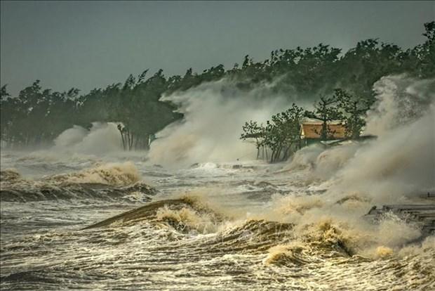 """越南作品在中国广州""""台风委员会区域天气和气候""""摄影比赛中荣获一等奖 hinh anh 2"""