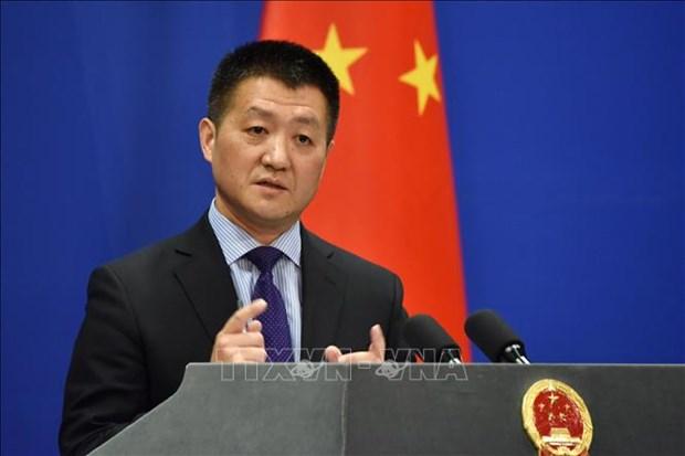 中国承诺将为推进朝鲜半岛和平进程做出努力 hinh anh 2