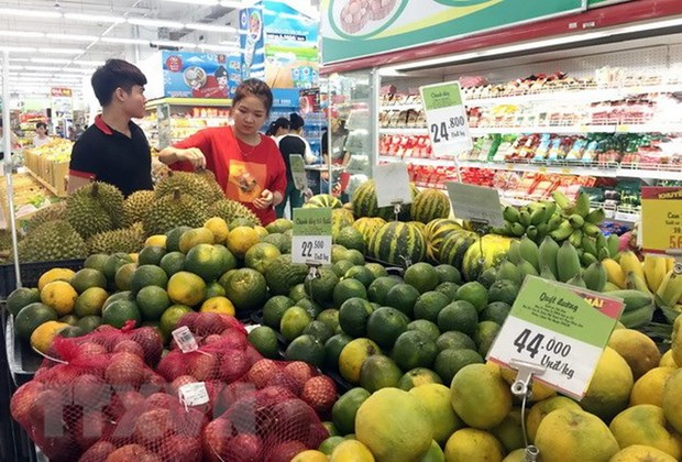 2月份河内居民消费价格指数同比增长3.91% hinh anh 1