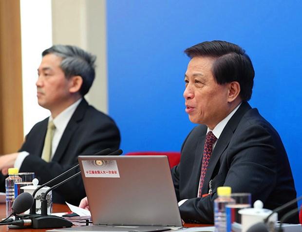 中国承诺将为推进朝鲜半岛和平进程做出努力 hinh anh 1