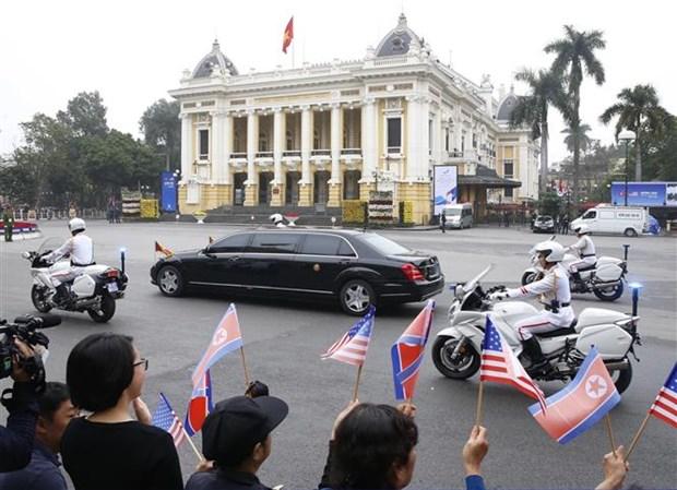 美朝领导人第二次会晤:越南已扮演好此次会晤东道国的角色 hinh anh 1
