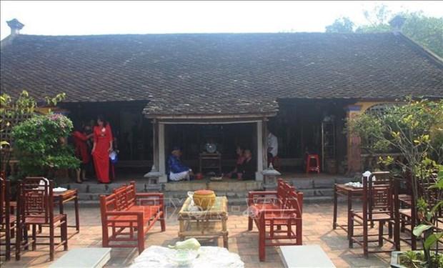 探访历史文化底蕴深厚的越南东山古村 hinh anh 3