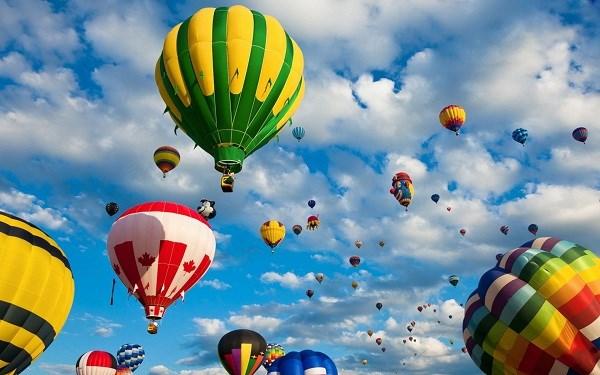 2019年顺化国际热气球节将于4月底举行 hinh anh 1