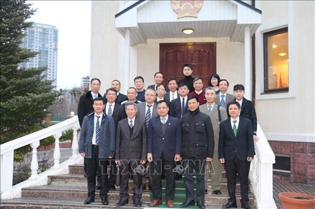 旅居乌克兰越南人群体为加强两国关系作出重要贡献 hinh anh 2