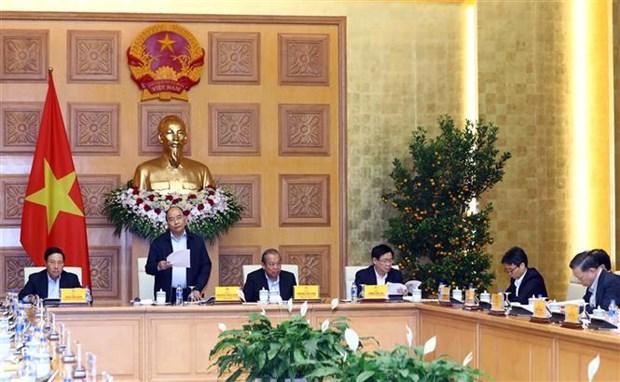 越南政府总理阮春福: 致力实现科技发展新突破 hinh anh 1