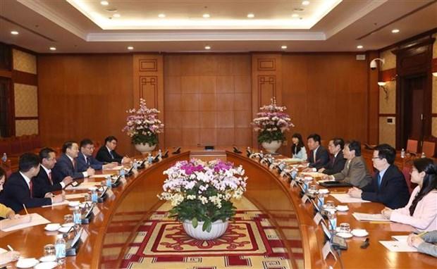 促进越南与蒙古在各个领域的合作关系 hinh anh 1