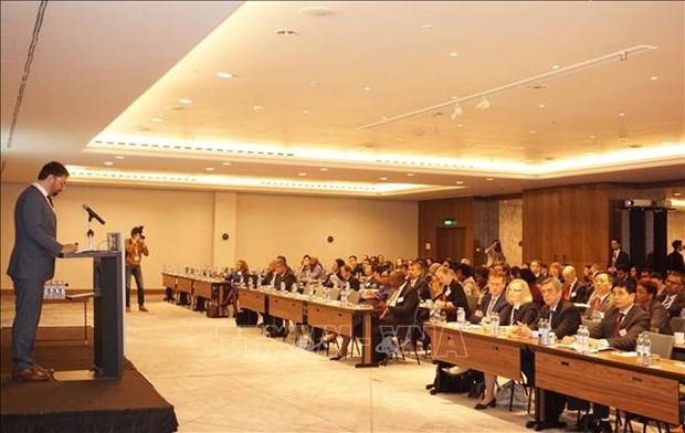 越南代表赴捷克出席第九届公共部门国际会议 hinh anh 1