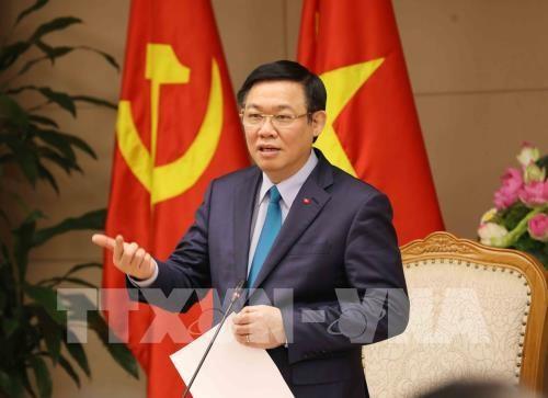 越南政府副总理王廷惠承担国有资金管理委员会直接管理任务 hinh anh 1