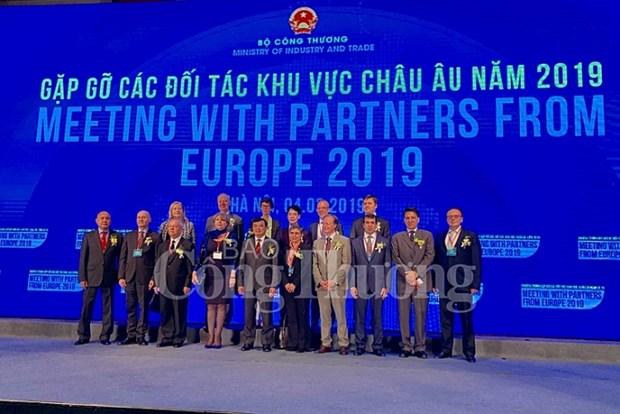 越南加强与欧洲地区各伙伴的对接 hinh anh 1