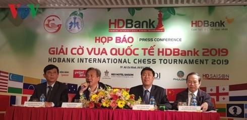 300余名国际象棋棋手将参加2019年HDBank国际象棋比赛 hinh anh 1
