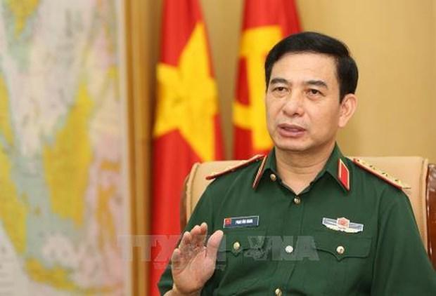 越南人民军总参谋长潘文江上将出席第16届东盟国防司令会议 hinh anh 1