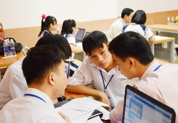 越南与日本合作培训和交换科技学生 hinh anh 1