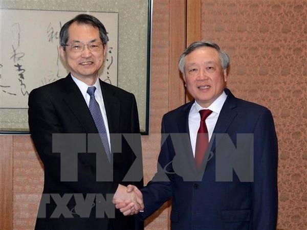 越南最高人民法院院长阮和平对日本进行工作访问 hinh anh 1