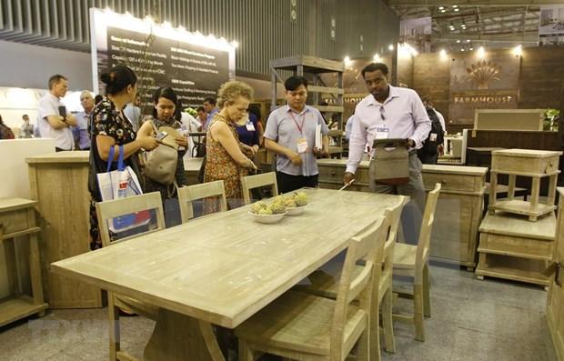 2019年越南国际家具及家具配件展览会正式开展 hinh anh 1