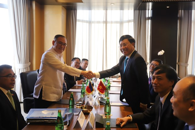 范平明访问菲律宾并出席越菲双边合作混合委员会第九次会议 hinh anh 1