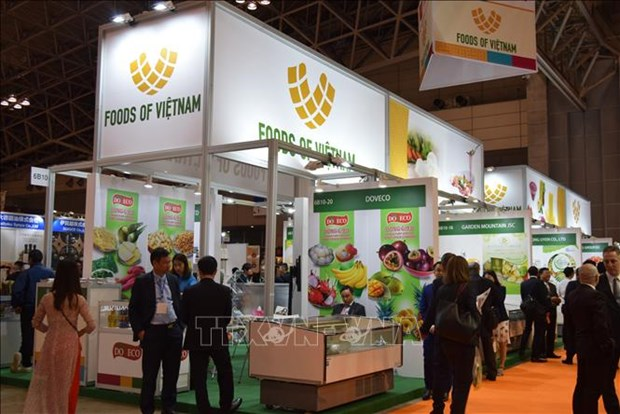 日本国际食品与饮料展:推介越南冷冻农产品的良好机会 hinh anh 1