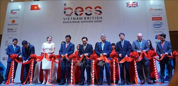 越南国际教育技术装备展览会在胡志明市举行 hinh anh 1