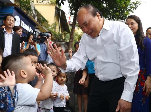 阮春福总理:保护妇女儿童的生命权、健康权和身体权 hinh anh 2