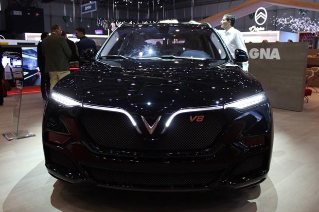 2019日内瓦车展:VinFast全新SUV LUX超级车型发布 hinh anh 1
