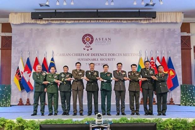 越南副防长潘文江率团出席第16届东盟国防总司令会议 hinh anh 1