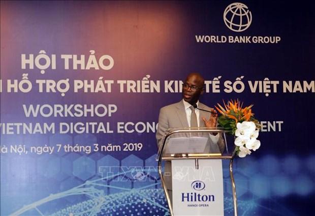 越南着力促进数字经济发展 提升数字经济惠民水平 hinh anh 1