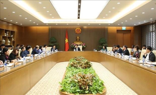 越南政府副总理武德儋:加大宣传力度 建设越南人文化意识 hinh anh 1
