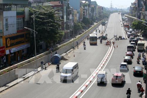 河内公共投资项目到位资金增长近16% hinh anh 1