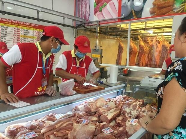 """英国与胡志明市签署""""关于建立猪肉产业交易所促进产业标准质量提升""""的谅解备忘录 hinh anh 2"""