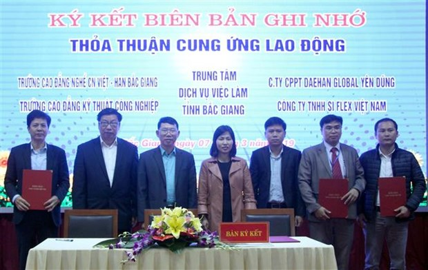 北江省举行在线招聘会 与11个省市直接连线 hinh anh 1