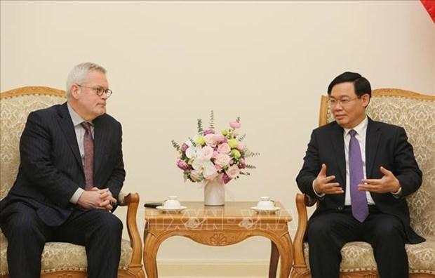 越南与美国促进贸易合作 hinh anh 1