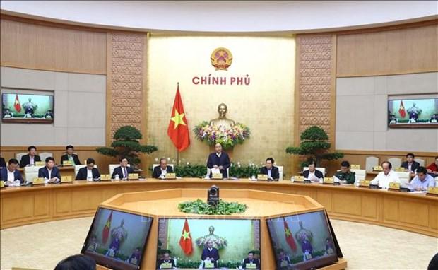 越南政府就制度建设问题召开专题会议 阮春福总理主持会议 hinh anh 1