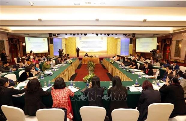 着力改善民生 提高公共服务水平 鼓励妇女积极参与劳务市场 hinh anh 1