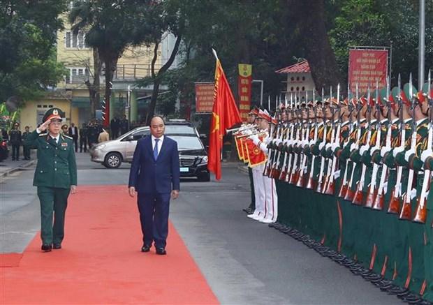 阮春福总理:军医学院应尽快达到国家重点院校标准 hinh anh 1
