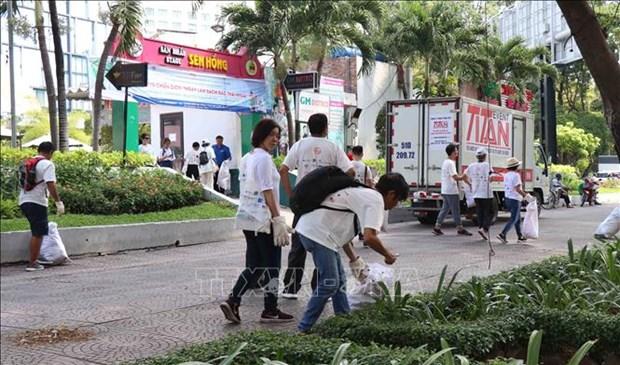2019年清理塑料垃圾日活动在胡志明市举行 hinh anh 1