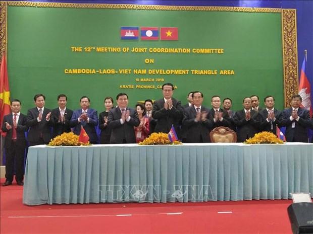 越南主持制定《CLV发展三角区贸易促进和便利化协定》行动计划 hinh anh 3
