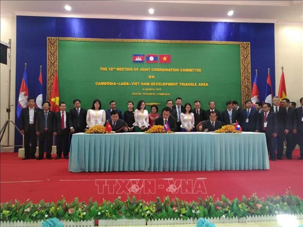 越南主持制定《CLV发展三角区贸易促进和便利化协定》行动计划 hinh anh 2