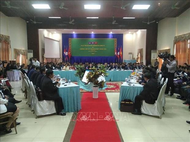 越南主持制定《CLV发展三角区贸易促进和便利化协定》行动计划 hinh anh 1