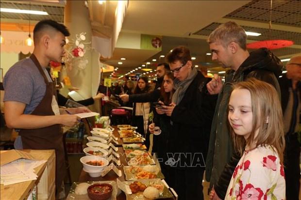 第8次越南街头美食节在俄罗斯热闹开场 hinh anh 1
