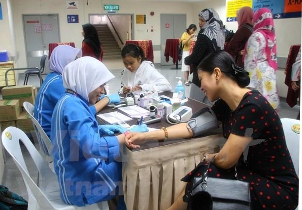 旅居马来西亚越南人接受免费的心血管疾病咨询 hinh anh 1