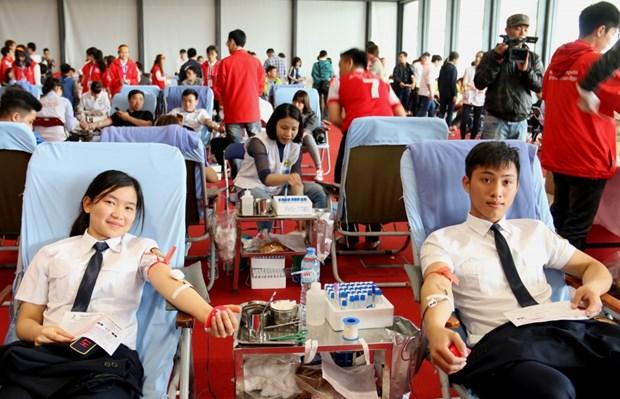 2018年全国无偿献血人次超119万 采血量达133.6万个单位 hinh anh 1