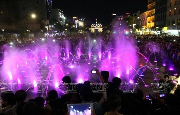 2019年彩灯节亮相胡志明 hinh anh 1