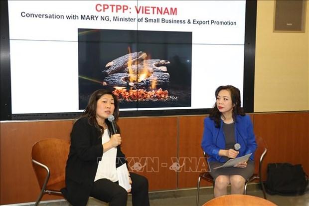 加拿大愿帮助该国企业促进与越南的贸易交流 hinh anh 2