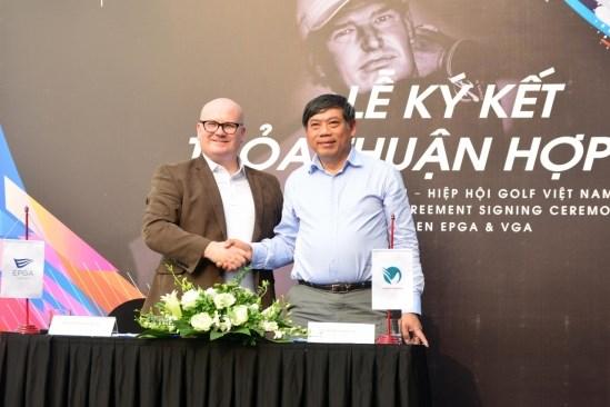 越南致力提高高尔夫球员的技术能力 hinh anh 1