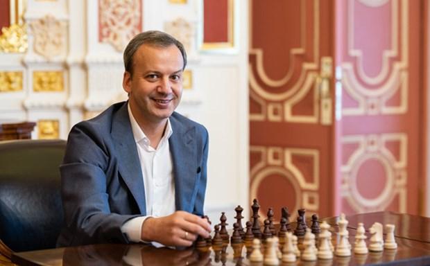 世界国际象棋联合会主席阿卡迪·达瓦科维奇访问越南 hinh anh 1