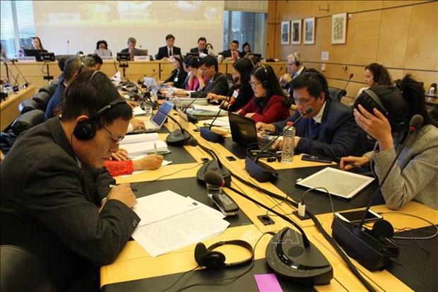 越南分享保护和促进公民权利和政治权利中的可喜成就 hinh anh 1